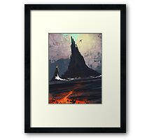 Mount Nefarious Framed Print