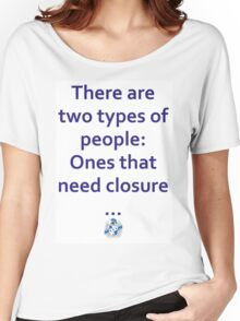 Two types of people Women's Relaxed Fit T-Shirt