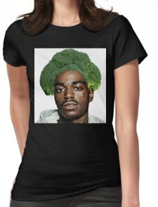 Kodak Black Broccoli Head Womens Fitted T-Shirt