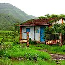 House in the farm by Charuhas  Images