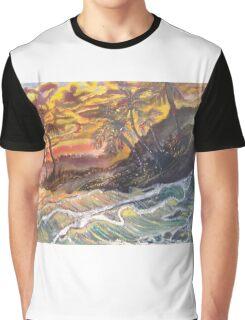 Dreamy Sunset Graphic T-Shirt