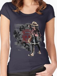 One piece - Straw Hats Women's Fitted Scoop T-Shirt
