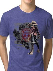 One piece - Straw Hats Tri-blend T-Shirt