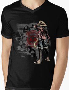 One piece - Straw Hats Mens V-Neck T-Shirt