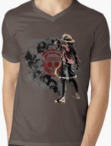 One piece - Straw Hats Mens V-Neck T-Shirt