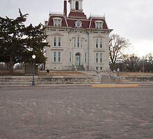Chase County, Courthouse, Kansas by oakleydo
