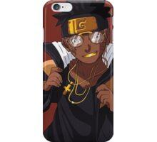 Black Naruto - Fly as a Mofo iPhone Case/Skin
