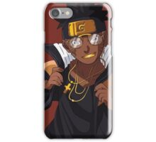 Black Naruto - Fly as a Mofo iPhone Case/Skin
