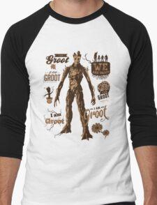 Guess Who I Am Men's Baseball ¾ T-Shirt