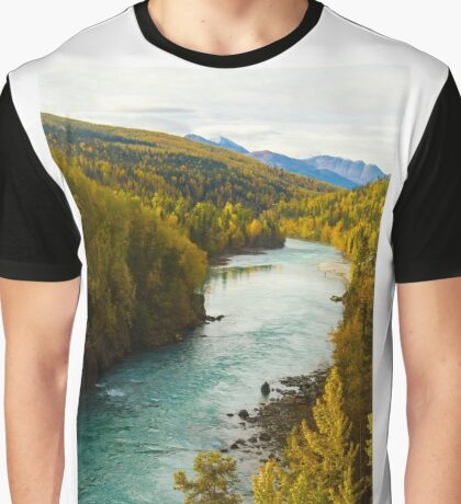 Kenai River Canyon Graphic T-Shirt