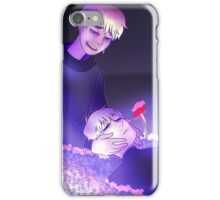 Poppies and Periwinkles  iPhone Case/Skin