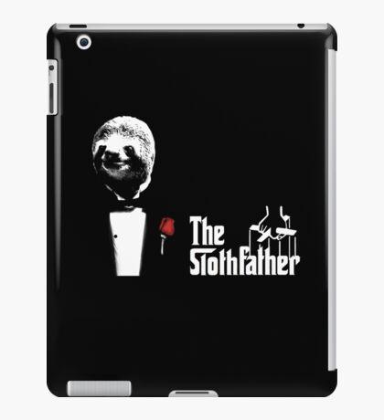 Sloth - The Slothfather godfather parody mashup iPad Case/Skin