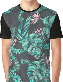 Tropical Leave pattern 2 Graphic T-Shirt