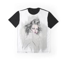 crazy hair girl Graphic T-Shirt