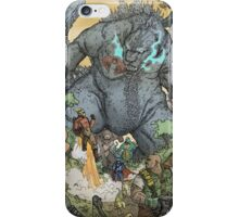 KING OF ALL MONSTERS iPhone Case/Skin