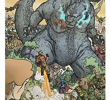 KING OF ALL MONSTERS by Ulises Farinas