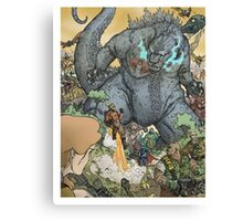 KING OF ALL MONSTERS Canvas Print