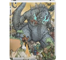KING OF ALL MONSTERS iPad Case/Skin