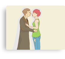 Remus and Tonks Canvas Print
