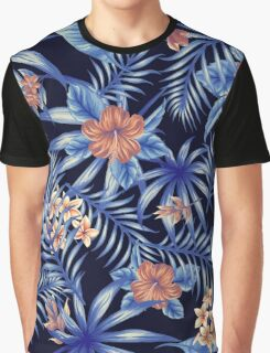 Tropical Leave pattern 3 Graphic T-Shirt