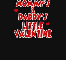 Daddy's Little Valentine Womens Fitted T-Shirt