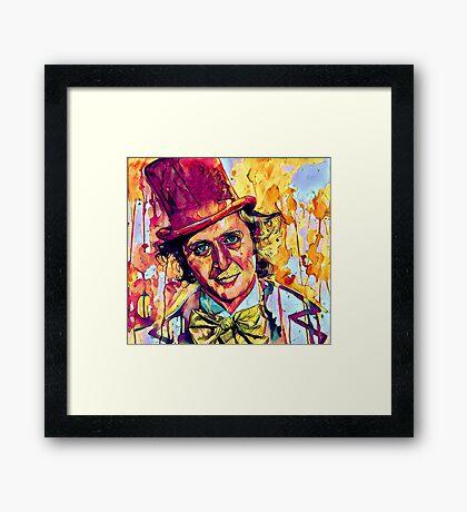 Willy Wonka - Gene Wilder Framed Print