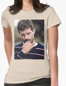 Handsome Jamie Dornan Womens Fitted T-Shirt