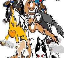Ponies of the Wild West Calendar & Artwork by Diana-Lee Saville