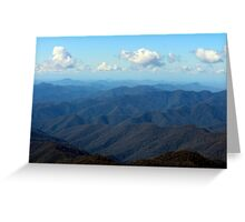 On A Clear Day Greeting Card