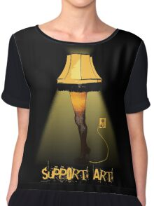 Support Art Chiffon Top