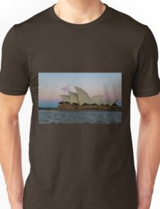 Sydney Opera House at the sunsets behind me Unisex T-Shirt