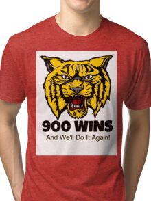 Valdosta Wildcats 900 Wins Tri-blend T-Shirt