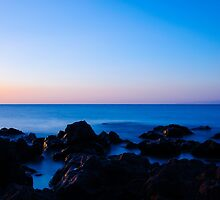 Silhouette Rocks by Alkisfab