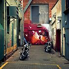 Alley Dancers by Ben Loveday