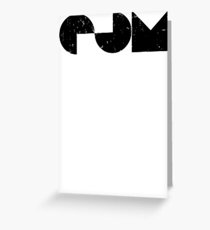 EDM electric dance music Greeting Card