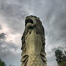 The Merlion at Sentosa (2) by Larry Lingard-Davis