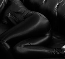 Leather and disco pants by Wheatley