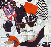 Fashion Collage #1 by LesleyH