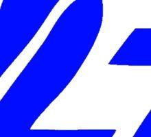 Unofficial Logo Blue Sticker