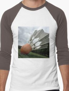 Shuttlecock to the Earth Men's Baseball ¾ T-Shirt