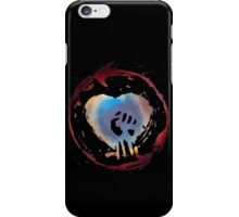 Rise Against Alternate Heart Fist on Black iPhone Case/Skin