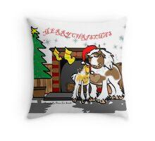 Gypsy Cob Christmas Card 3 Throw Pillow