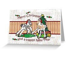 Gypsy Cob Christmas Card 2 Greeting Card