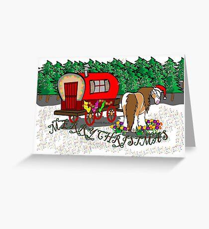 Gypsy Cob Christmas Card 1 Greeting Card