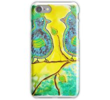 Two Silly Birds iPhone Case/Skin