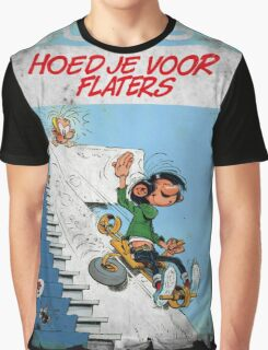 Vintage Style : Hoed Je Voor Flaters Graphic T-Shirt