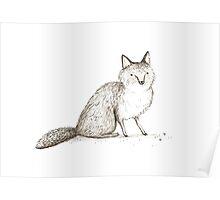 Swift Fox Sketch Poster