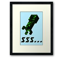 Creeper Framed Print