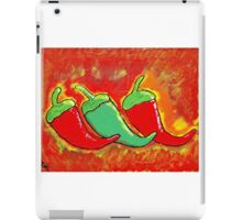 Three Spicy Chilies iPad Case/Skin