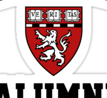 Harvard Alumni - Just Kidding! Sticker